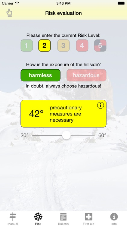 Avalanche Risk screenshot-1