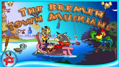 Bremen Town Musicians: Free Interactive Touch Book screenshot one