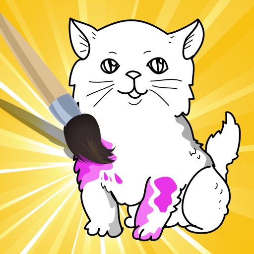 Активный! Книжка-раскраска Кошек Для Детей: Научиться Рисовать Кот