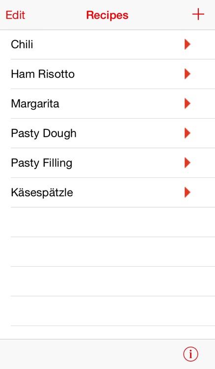 Serving Sizer Recipe Manager screenshot-4