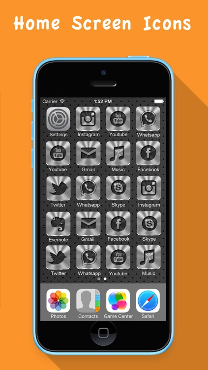 Skin My Icons- Home Screen Icons,Icons Skin screenshot-4