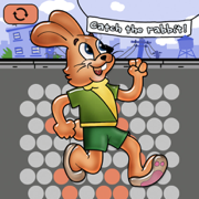 Catch the Rabbit for iPhone and iPad Fill HD