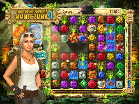 Скачать игру The Treasures of Montezuma 4 HD