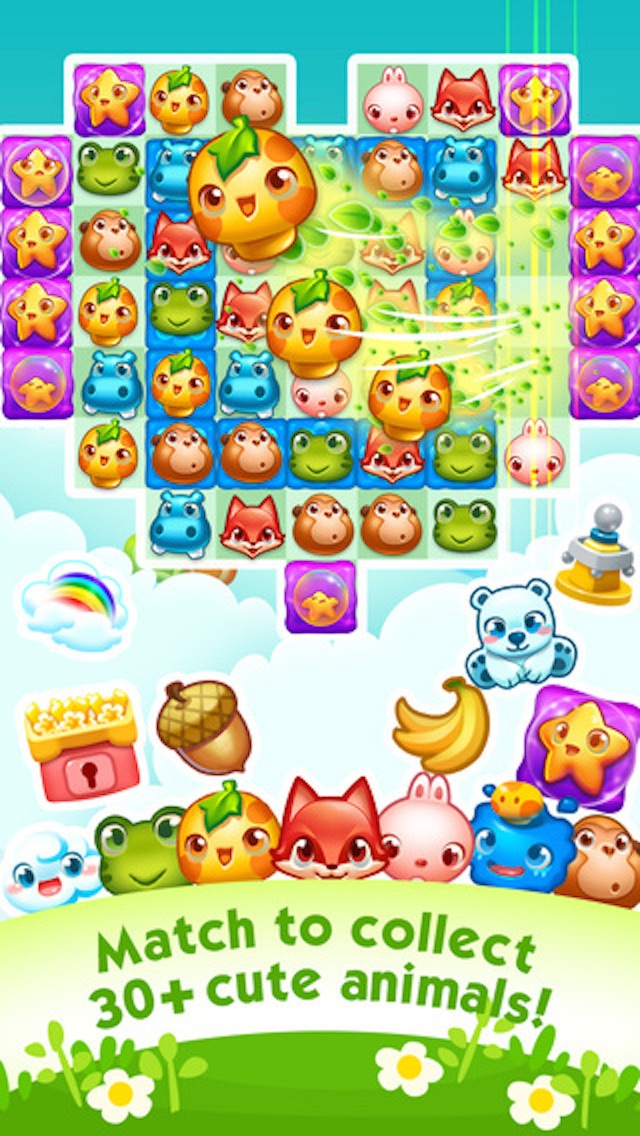 Forest Heroes – 3 match puzzle game Cheat Codes