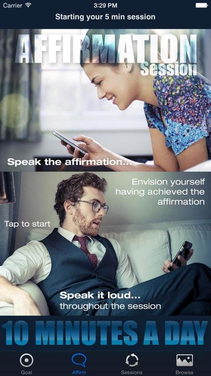 Master Mind - Lockscreen Affirmation Wallpapers and Voice Affirmations screenshot-3