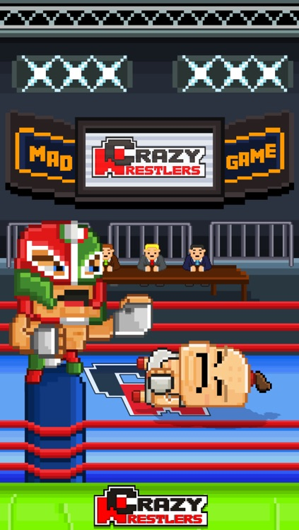Crazy Wrestlers Game - Free 8-bit Pixel Retro Fight-ing Games