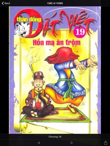 Screenshot #1 for Thần Đồng Đất Việt - Đọc Truyện Tranh Offline ...