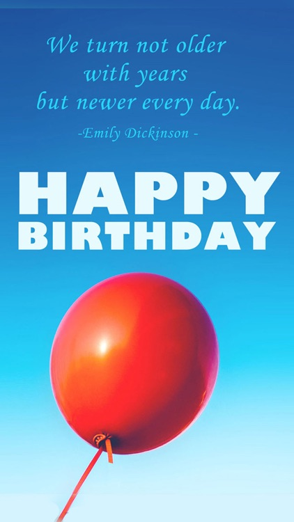 Birthday Greeting Cards - Happy Birthday Greetings & Picture Quotes screenshot-3