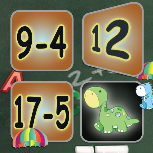 Subtraction: Math Facts Card Matching Game