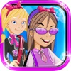 Izzy And Friends Girl Fashion Story- Sparkles High School Uniform Glam Dress Up Free Game