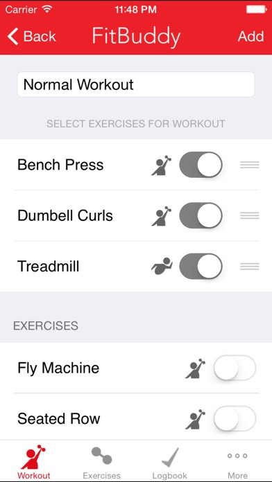 fitbuddy gym tracker workout journal and exercise log the simple