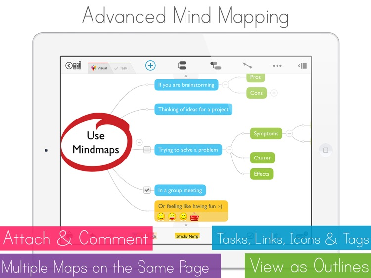 MagicalPad: Notes, Mind Maps, Outlines and Tasks - All in one screenshot-1