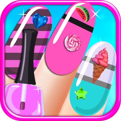 Sparkle Nail Salon - Kids Manicure & Pedicure Shop FREE