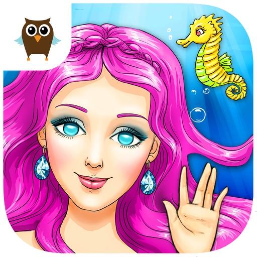 Mermaid Ava and Friends - Ocean Princess Hair Care, Make Up Salon and Dress Up (No Ads)