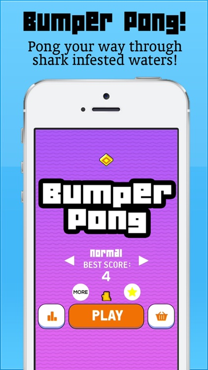 Bumper Pong - Hardest Bounce Game Ever! screenshot-0