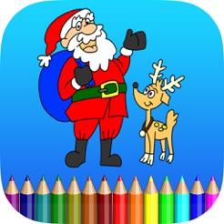 Boyama Kitabı Noel Baba Merry Christmas App Storeda