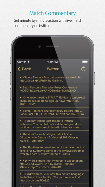 New Orleans Football Alarm Pro screenshot-4