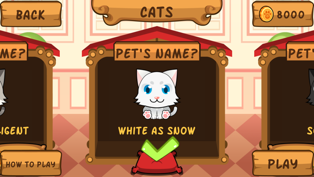 My Virtual Cat ~ Pet Kitty and Kittens Game for Kids, Boys and Girls Screenshot