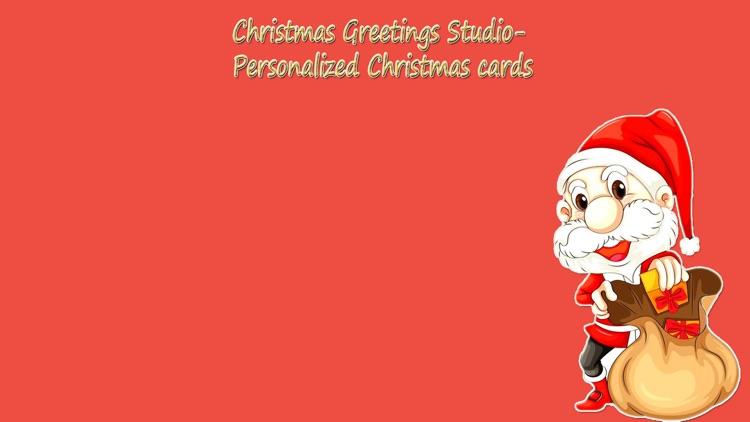 Christmas Greeting Studio - Personalized Christmas Cards