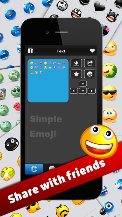 Simple Emoji Pro - Animated Emojis Icons plus Emoticons Art Keyboard screenshot-4