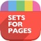 The modern and polished Sets for Pages pack supplies a collection of 60 easy-to-use templates for creating business and personal content with Apple's Pages