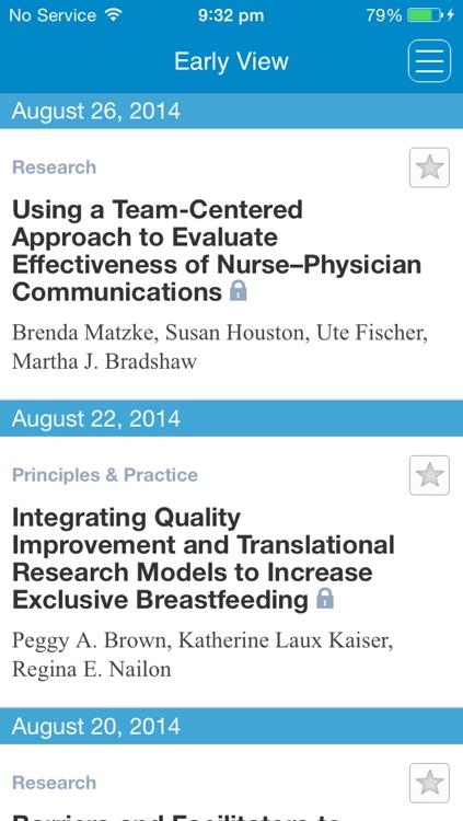 The Journal of Obstetric, Gynecologic & Neonatal Nursing screenshot-3