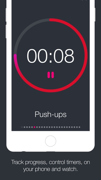 Timers - Interval timers for workout and making fussy coffee screenshot-1