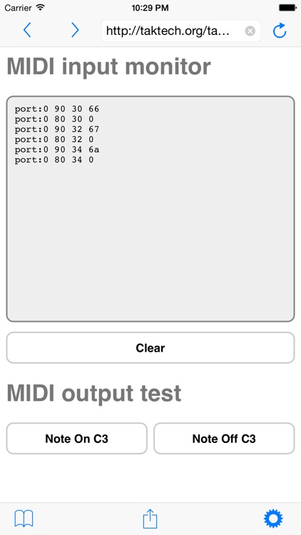 Web MIDI Browser
