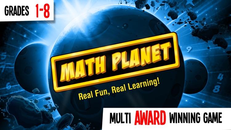 Math Planet - Fun math game curriculum for kids screenshot-0