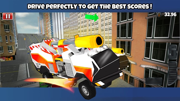 Fire Truck 3D screenshot-3