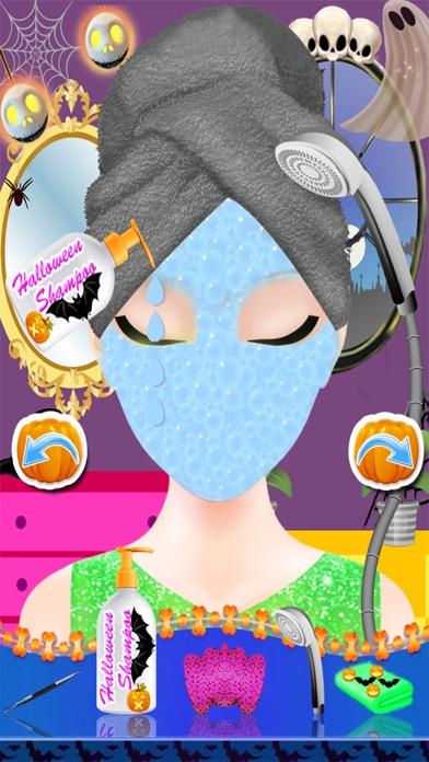 ハロウィン コスチューム パーティー ドレス - スパ サロン不気味な化粧 & 変身子供 10 代のドレス デザイン女の子ゲーム紹介画像4