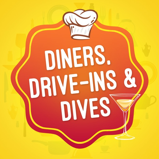 Great App for Diners, Drive-ins and Dives Restaurants icon