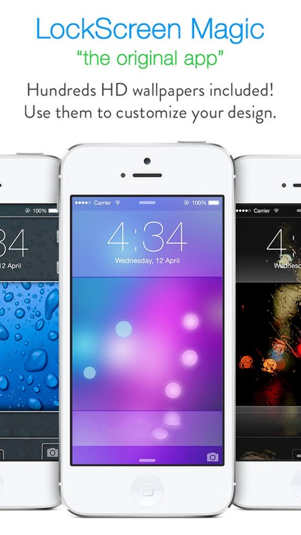 LockScreen Magic for iOS8 : Custom Themes, Backgrounds and Wallpapers for Lock Screen screenshot-2