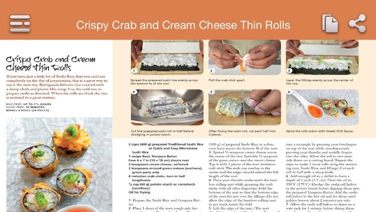 Sushi Recipes screenshot-4