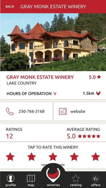 Wine Findr - Okanagan Wine Tour Guide screenshot-4