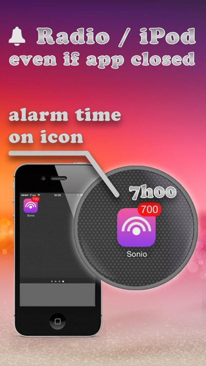 Alarm Clock Radio - Sonio Pro screenshot-3