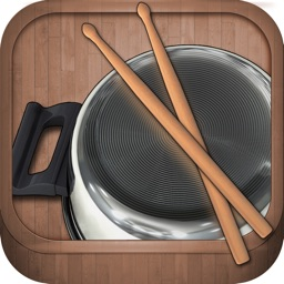 Free Pot & Pan Drumming App for Kids. Pantastic HD.