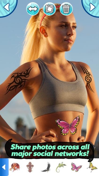 Tattoo Maker Photo Editor and Fake Ink Tattoos screenshot-3