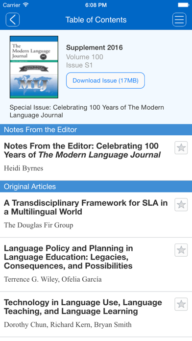 The Modern Language Journal screenshot four
