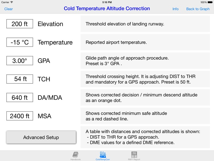Cold WXR Altitude Correction screenshot-3