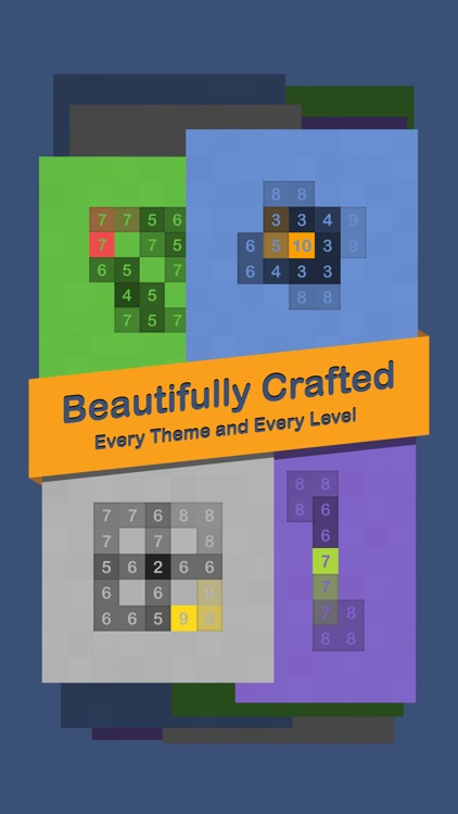 Crater - a Numerical Puzzle Game that Impacts Your Mind screenshot-3