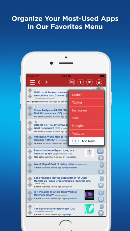 Social Media Manager Red Box Pro screenshot-1