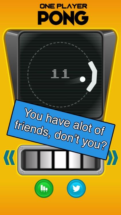 One Player Pong screenshot-3