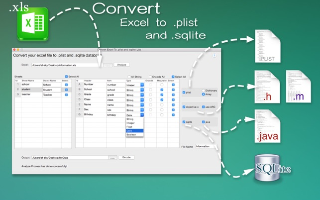 DataConvertor for Excel Lite on the Mac App Store