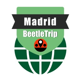 Madrid travel guide and offline city map, Beetletrip Augmented Reality Madrid Metro Train and Walks