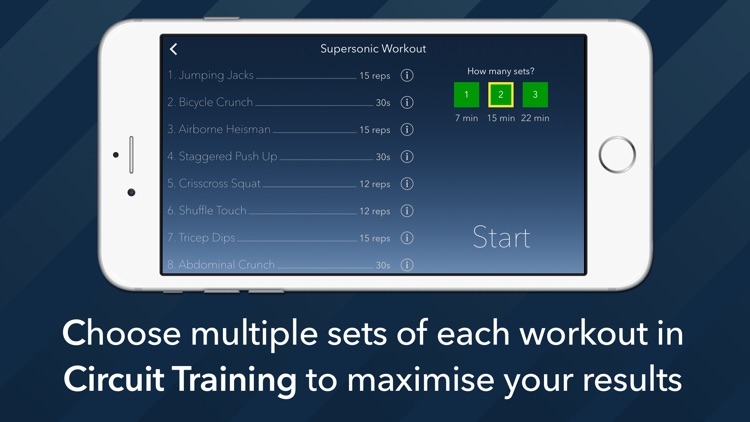 7 Minute Motion-Tracking Workout screenshot-3