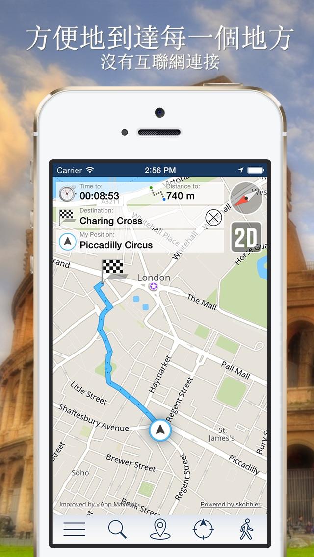 裡加離線地圖+城市指南導航,旅遊和運輸屏幕截圖3