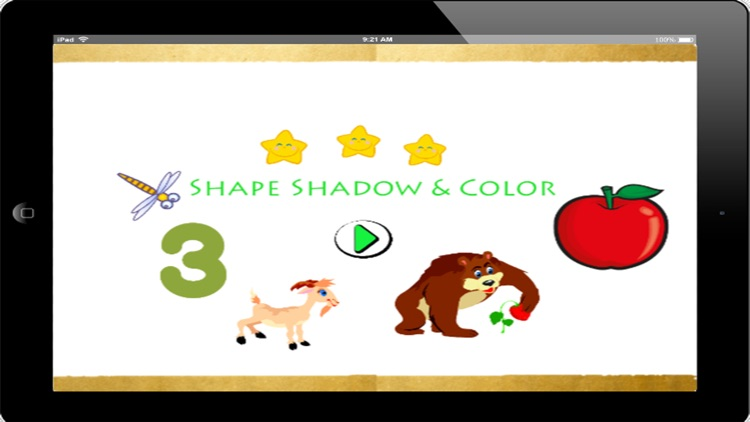 Shapes And Colors Education Game For Kids