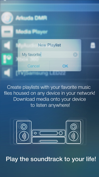 MyAudioStream Pro UPnP audio player and streamer: gather your music collection from your PC, NAS, UPnP servers, Windows Media Player or iTunes local and share it with your wireless speakers, AV Receivers, AllShare TV, PS3 or Xbox360 screenshot-4