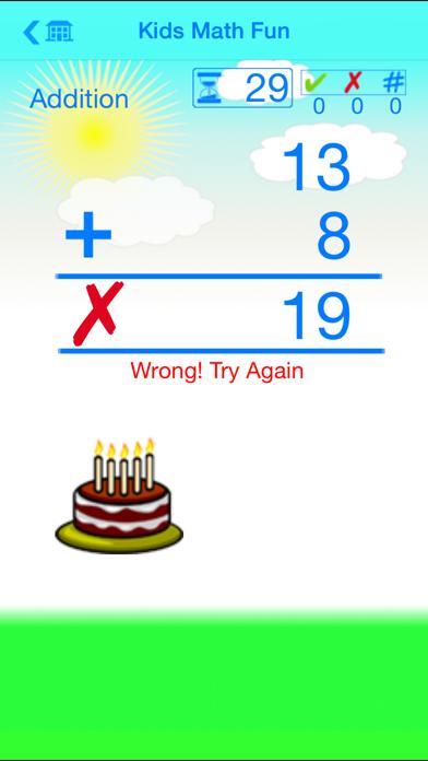 Kids Math Fun — First Grade screenshot two